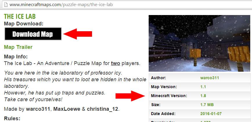 Dodavanje mapa u Minecraft clanak21g