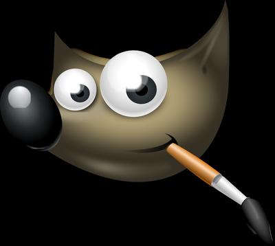 Logo programa GIMP