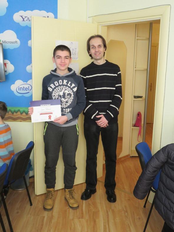 Dodela sertifikata i Minecraft turnir  05