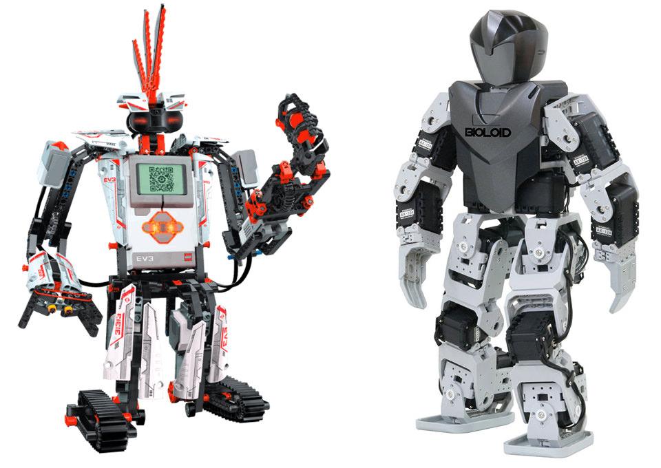 Programabilni roboti - LEGO Mindstorms EV3 i Robotis Bioloid