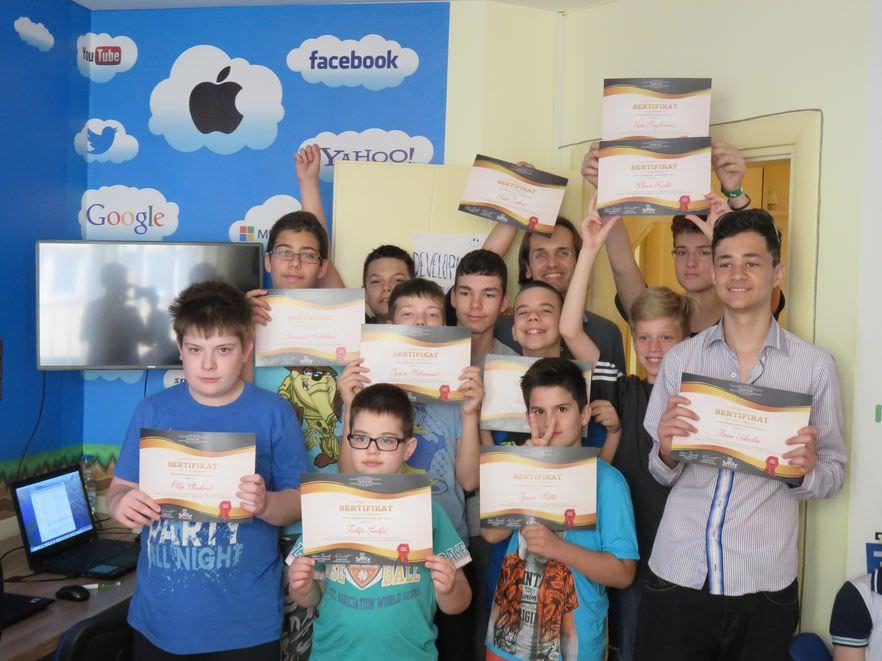 Dodela diploma VI klasi učenika