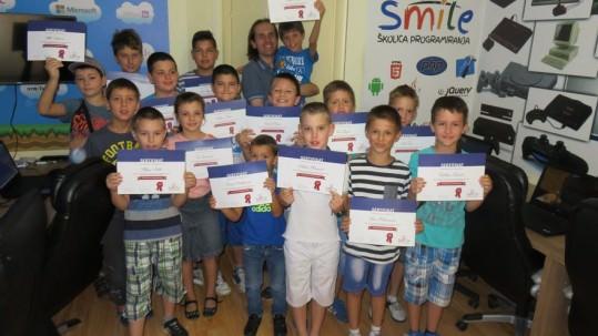 Smile školica: Dodela sertifikata i veliki letnji Minecraft turnir