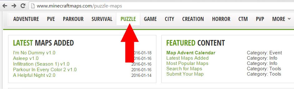 Dodavanje mapa u Minecraft clanak21e