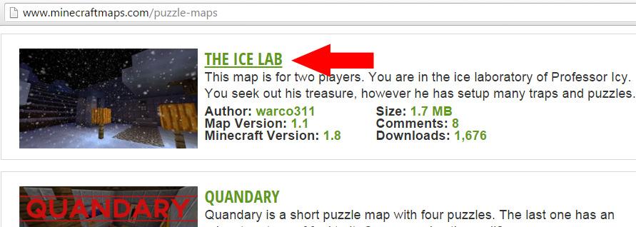 Dodavanje mapa u Minecraft clanak21f