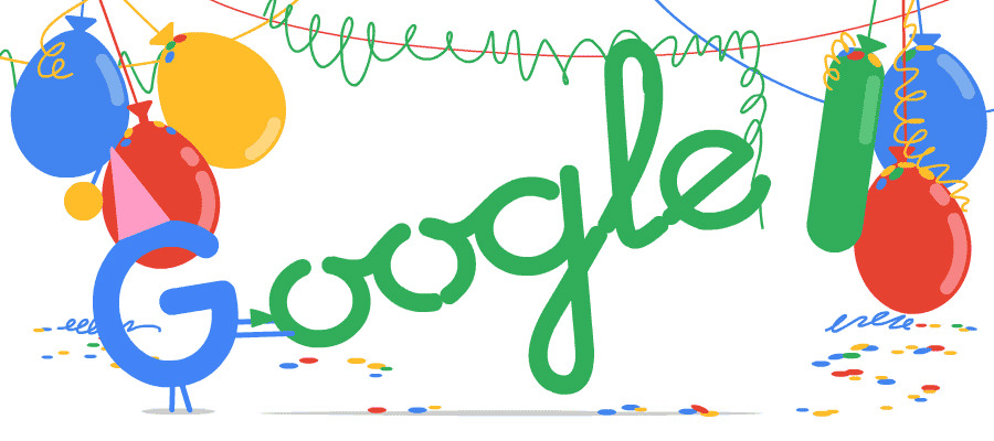Google doodle 18th birthday