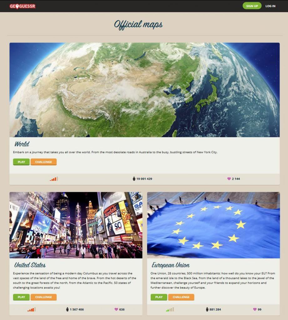 Geoguessr Screenshot