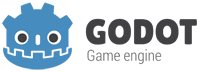 Logo Godot engina